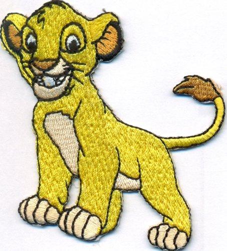Simba König der Löwen Kinder Löwe Schultasche DVD Aufbügler Aufnäher Patch -