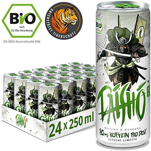 DAISHO - Matcha & Guarana Bio Energy (vegan), 24er Tray (24 x 250ml)