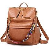 BAGZY Klein Rucksack Damen Daypacks Reisen Tasche Leder Rucksäcke Wasserdicht Umhängetasche Anti-Theft Schulrucksack Für Läss