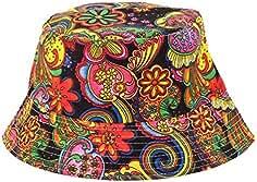 Italily-Cappello Pescatore Uomo Donna Estivo Anti UV Tesa Larga Bucket Hat  Impermeabile Pieghevole Cappelli f17553448cc8