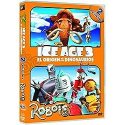 Ice Age 3: El origen de los dinosaurios + Robots [DVD]