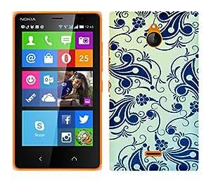 TrilMil Printed Designer Mobile Case Back Cover For Nokia X2