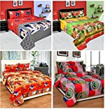Zainhome 4 Double Bedsheets With 8 Pillo...
