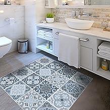 Pegatina para el suelo for Suelo vinilico mosaico