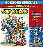 Fumetti Supertopolino N° 3324 - con Il Mazzo di Carte Blu - Disney Panini Comics - Italiano