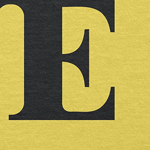Texlab–Poke Love–sacchetto di stoffa Gelb