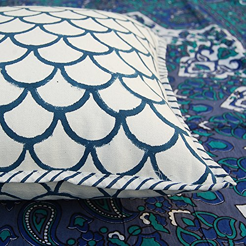 HANDICRAFTOFPINKCITY Indian Kantha Cushion Cover ,Throw Handmade Cotton Pillow Cases...