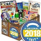 Original seit 2018 | DDR Korb | DDR Spezialitäten-Box mit Halloren, Wikana und Rotstern und vielem mehr