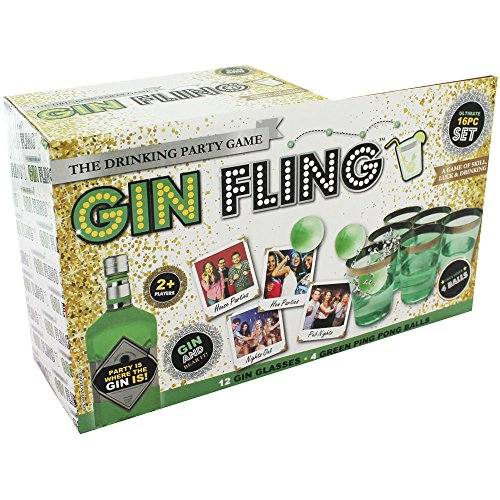 Gin Fling Ping Pong Adult Drinking Game Xmas New Year Hen Stag Party Shot Pong