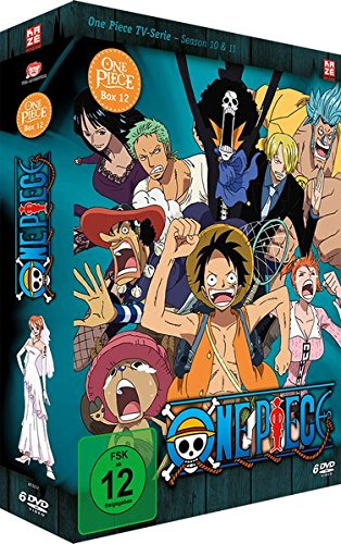 One Piece - Box 12: Season 10 & 11 (Episoden 359-390) [6 DVDs]