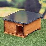 riverside woodcraft hedgehog house starter kit with anti bacteria coating Riverside Woodcraft Hedgehog House Starter Kit With Anti Bacteria Coating 61EYPNmYhDL