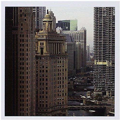 3dRose Gc_90146_1 Grußkarten, Chicago River, Michigan Avenue, Chicago, Illinois, US14 BFR0013, Bernard Friel, 15,2 x 15,2 cm, 6 Stück