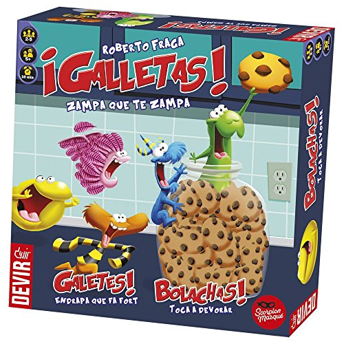 Devir - Galletas, juego mesa BGGALLETAS
