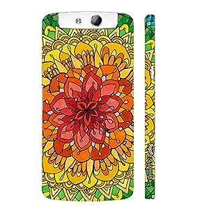 Oppo N1 Desert Rose designer mobile hard shell case by Enthopia