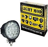 #4: 1Pc. LightMod 14 LED Circle 42 Watt Bike Auxillary CREE Fog Lamp Light Flood Light Bulb Offroad Motorcycle LED
