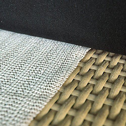 Arte Reale a antiscivolo tappeto Pad-Non adesivo Mensola antiscivolo e cassetti-anche per materasso, divani e sedie, PVC, 5' * 8'