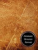 Company Minutes Format: Minutes Log