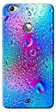Digiprints Hard Pc Slimfit Lightweight Back Cover for LeTV Le 1S, Colorful Rainbow Drop Printed Designer Back Case Cover for LeTV Le 1S