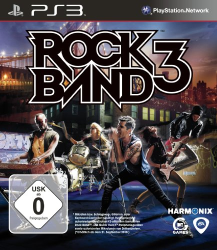 Rock Band 3 (Rock Ps3 3-schlagzeug Band)