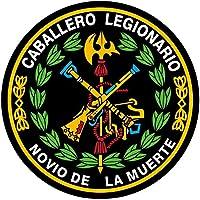 Artimagen Pegatina círculo Logo legión Color y Laurel ø 70 mm.