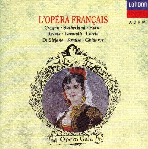 L'Opéra Français-Extraits:Carmen,Lakme,Faust-Pavarot.Crespin Sutherland-Marilyn Horne-