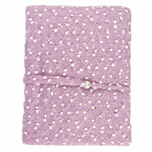 YiZYiF Neugeborenes Baby Kleidung Mohair Wickeltuch Häkel Baby Kostüm Schlafsack Fotografie Foto Prop Outfits Set 160 x 110cm (#3 Lavendel) (X Kleidung 3)