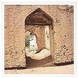 Best Omen - 3dRose Doorway on Neighborhood Street, Muscat, Oman Photo Review