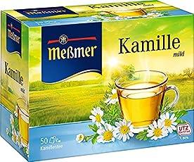 Meßmer Kamille 50 TB, 2er Pack (2 x 75 g Packung)