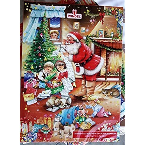 Madelaine Christmas Chocolate Advent Calendar - Christmas Pageant Countdown to Christmas by FavorOnline