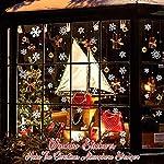 Natale-Vetrofanie-Rimovibile-Adesivi-Murali-Fai-da-te-Finestra-Decorazione-Vetrina-Wallpaper-Adesivi
