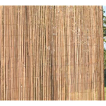 Slatted Bamboo Screening ( 5m Wide x 2m High ) - Natural