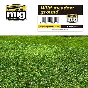 AMMO MIG-8361 Wild Meadow - Alfombrillas de césped para Suelo