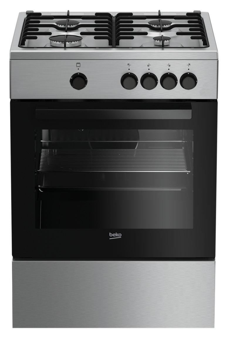 Beko FSG62000DX Libera installazione Piano cottura a gas A Acciaio inossidabile cucina