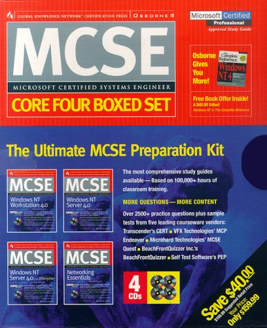 MCSE Certification Press Core Four Boxed Set: