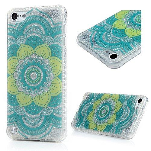 Custodia iPod Touch 5 Silicone TPU Bordo Verniciata + Cover PC + IMD Fondo Mestiere, Badalink Slim Fit Inserti All'Interno Dipinti Scintillio Colore Modello