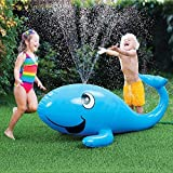 Best Water Sprinkler For Kids - Kids Water Sprinkler Toy: 2 in 1 Giant Review