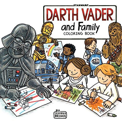 Darth Vader and Family Coloring Book por Jeffrey Brown