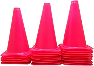 """BlueDot Trading Cones (20 Pack), 9"""", Pink"""