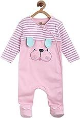MINIKLUB Girls Sleepsuit-Pink