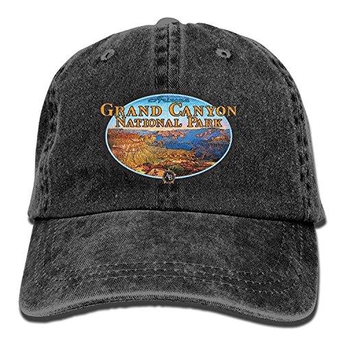errterfte Grand Canyon National Park Unisex Denim Baseball Cap Strap Low Profile Plain Outdoor Hats Casquette Snapback Hats Ash Personalized Hat Comfortable Adjustable