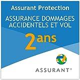 2 ans assurance dommage accidentel et vol pour une tablette de 70 EUR à 79,99 EUR