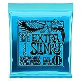 Ernie Ball 2225 Extra Slinky Jeu de cordes pour Guitare électrique