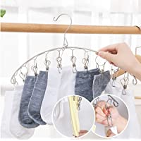 SHAFIRE Stainless Steel Rust-Free Drying Hanger, Clothes Hanger, Hanger, Underwear Hanger, Hanger for Baby Clothes with…