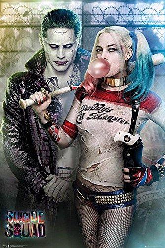 Close Up Suicide Squad Poster Joker & Harley Quinn (61cm x 91,5cm) + Ü-Poster