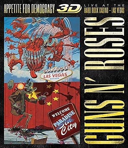 Guns N' Roses - Appetite For Democrazy: Live (inkl. 2D-Version) [3D Blu-ray] (Beste 3d Blue Ray Filme)