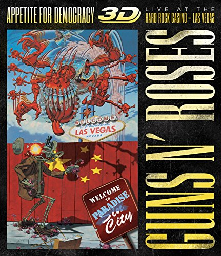 Appetite For Democracy: Live At The Hard Rock Casino - Las Vegas (BluRay) [3D Blu-ray] hier kaufen