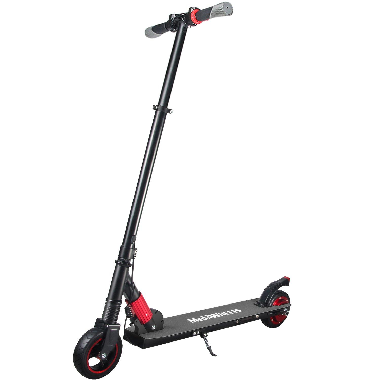 M MEGAWHEELS Patinete Eléctrico Plegable Scooter, 10-12Km di Autonomia, Velocità Fine at 23km/h, per Adult, Bambini