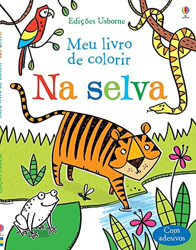 Na Selva. Meu Livro de Colorir (Em Portuguese do Brasil)