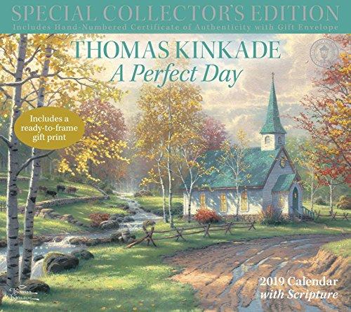 Thomas Kinkade A Perfect Day With Scripture 2019 Calendar: Includes a Ready-to-Frame Gift Print par Thomas Kinkade
