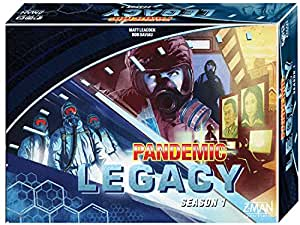 Z-Man Games Pandemic Legacy Season 1 Box Board Game - Blue
